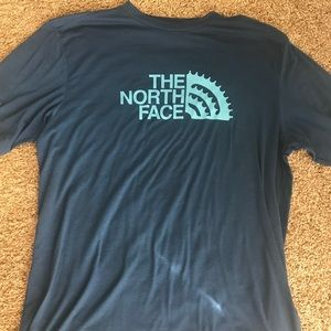 North Face large blue T-shirt